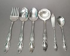 BAROQUE ROSE 1967 COCKTAIL or SEAFOOD FORK BY 1881 ROGERS