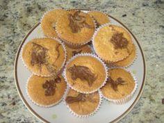 Receita Aperitivo : Muffins de baunilha e nutella de Luciana S. R. Samaniego
