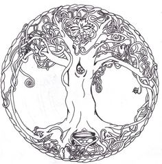 Tree of Life by Sagittarius-A.deviantart.com on @DeviantArt
