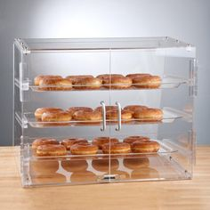 Choice 3 Tray Bakery Display Case with Rear Doors