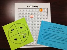 Math Coach's Corner: Practicing +10 and -10. Grab this easy workstation game for practicing +10 and -10. FREE! :)