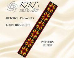 Bead loom pattern Arrows ethnic inspired LOOM por KikisBeadArts
