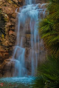Tropical Waterfall Photography by RedPandaProd on Etsy, $10.00