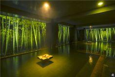 竹林の湯 [大浴場] 夜