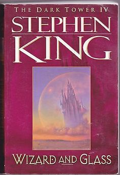 cool Wizard and Glass 4 by Stephen King (1997 Paperback) The Dark Tower - For Sale View more at http://shipperscentral.com/wp/product/wizard-and-glass-4-by-stephen-king-1997-paperback-the-dark-tower-for-sale/