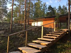 Archipelago, Four Seasons, Ecology, Finland, Sustainability, Villa, Stairs, Contemporary, Nature