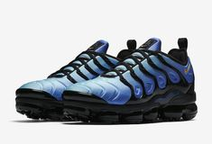 innovative design 9d83c 5c209 Nike Air VaporMax Plus (Black Hyper Blue)