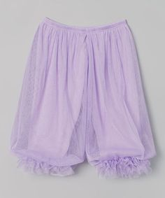 These eye-catching harem pants expertly thread traditional with trendy. Subtle shimmer and a touch of ruffles add girly appeal, while an elastic waistband ensures optimal comfort.