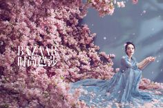 Yang Mi and Mark Chao pose for fashion magazine   China Entertainment News