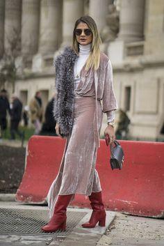Day 4 | Best Paris Fashion Week Street Style Fall 2017 | POPSUGAR Fashion Photo 163