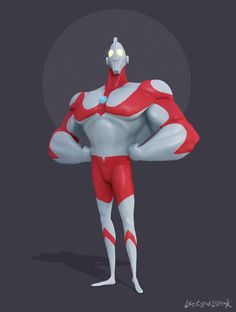 ArtStation - Ultraman | The Ultraman series, Leo Ogawa Lillrank