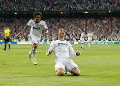 Ronaldo Scores Real Madrid Real Madrid Football Club Cristiano Ronaldo