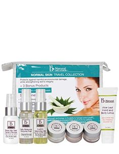 Be Natural Organics Normal Skin Travel Collection 7Piece Skin Care Collection -- You can find more details by visiting the affiliate link Amazon.com.
