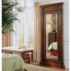 This mirror is a door to jewelry storage! Floor Mirror with Hidden ...