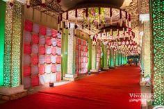 Wedding Hall Decorations, Desi Wedding Decor, Marriage Decoration, Wedding Entrance, Wedding Mandap, Entrance Decor, Flower Decorations, Wedding Venues, Festival Decorations