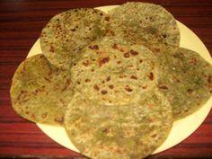 All Green Paratha