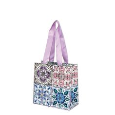 Joost gift bagSmall Gift bag Size: 160 x 160mm x 80mm when open Pink ribbon handles   Manufacture by Deva Designs LtdCards and Gift Wrap