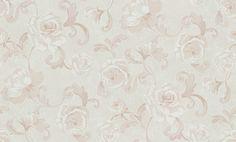 L`Amour Tapete 956866 Creme Braun Blumen , Ornament - Vlies - Kaufen bei SENDMAX GmbH & Co. KG
