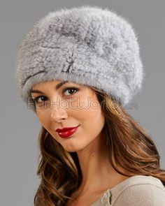Shop FurHatWorld for the best selection of Mink Fur Hats. Buy the Mya Grey Knitted Mink Beanie Hat with Elastic Band by FRR with fast same day shipping. Knit Beanie, Beanie Hats, Fur Accessories, Apres Ski, Ski Fashion, Cute Hats, Fur Boots, Mink Fur, Loom Knitting