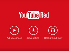 scitechpress:  YouTube Red Introduces New Ad-Free Subscription Membership Full Story  Somebody at Google liked the name of my Red News Forum!!!! rrrrr