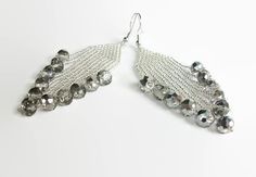 Saturday finds by Sarah Matthews on Etsy Etsy Handmade, Handmade Gifts, Silver Beads, Mall, Dangle Earrings, Dangles, Jewelry Making, Unique Jewelry, Bright