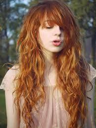 cabello largo ondulado