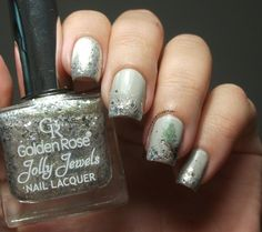 The Clockwise Nail PolishGolden Rose Jolly Jewels 122