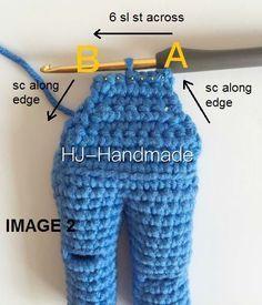 Este patrón de muñeca de crochet es uno de los patrones que me habeís pedido que traduzca. Espero qu