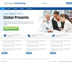 this website layout design for demo template for job consultancy company. I work on layout designing photoshop