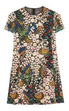 Gah! i adore this dress - Multi Macrame Bouquet Dress by Valentino - Moda Operandi