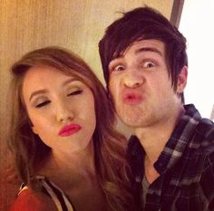 Kalel Cullen And Anthony Padilla Making Kissy Faces They Are So Adorable Together