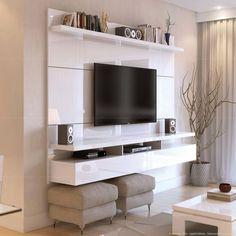 Compre Painel para TV 2 Portas para TV até 60 Pelegadas City 1.8 Branco - Província em Promoção com ✓ Até 12x ✓ Fretinho
