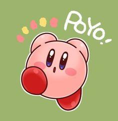Kirby Kirby Character, Nintendo, Video Game Companies, Yoshi, Meta Knight, Videogames, Simple Doodles, Cute Pokemon, Video Game Art