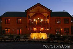 Gatlinburg Amazing Grace, nestled in the heart of Gatlinburg, enjoys a panoramic view of both the Great Smoky Mountains and the sparkling lights of downtown Gatlinburg. Providing the ultimate in sophisticated space and elegance, this handcrafted three-story log lodge boosts regal landscape, stately gates and 10,000 square feet under roof. This enormous lodge sleeps 25 people comfortably and offers a wide variety of amenities.