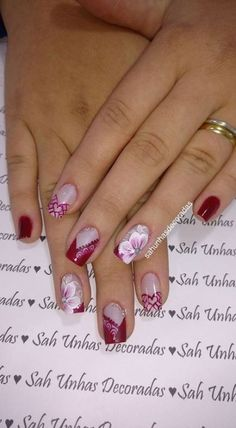 Trendy Ideas For Nails Design Fall Gel Round Elegant Nail Designs, Colorful Nail Designs, Elegant Nails, Fall Nail Designs, Love Nails, My Nails, Nail Art For Kids, Luxury Nails, Creative Nails