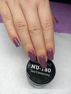 Nails dip powder KK: Tea Ceremony - August-September Beautiful shade to transition i. KK: Tea Ceremony - August-September Beautiful shade to transition into fall! Dip Nail Colors, Sns Nails Colors, Spring Nail Colors, Spring Nails, Winter Nails, Nail Manicure, My Nails, Pedicure, Nail Polish