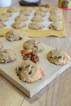 Sweet Potato-Raisin-Pecan Cookies / http://thefirstyearblog.com