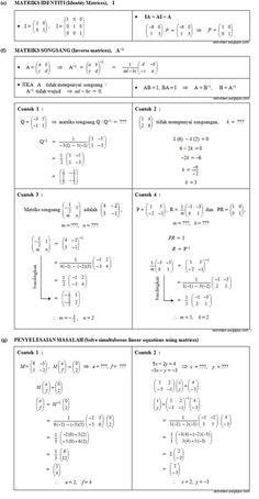 Matriks (Matrices)