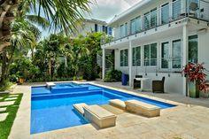 Landscape Design, swimming pool, hardscape, Key West. indoor/outdoor living