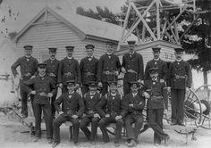 Fire Brigade, Walker Street, Dandenong, late 1890s.