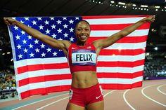 Allyson Felix gold medal in 200 mts !