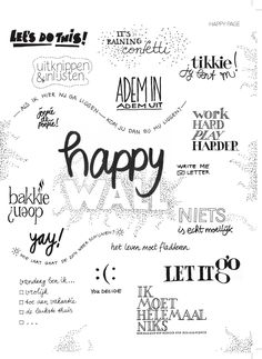 happy page happy wall