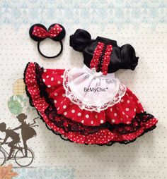Excited to share the latest addition to my #etsy shop: Blythe Dress Pullip Dress Barbie Cloth Outfit My Little Minnie #dollclothes