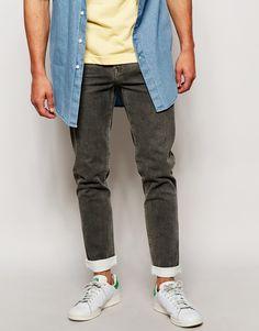 Skinny Jeans With Coating www.StyleLounge.de