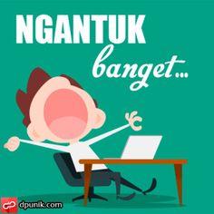 DP BBM Ngantuk Banget