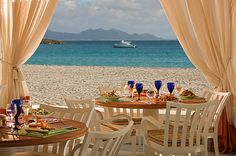 Beach-side Dining at Cap Juluca by Universal Travelers,