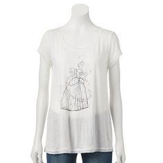 Disney's Cinderella a Collection by LC Lauren Conrad Foil Graphic Tee - Kohl's $17.60