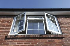 We offer repair & installation services of sash, bay & double glazed window, uPVC, composite, bi folding & french doors in London. Fenetre Double Vitrage, Kent Homes, Upvc Windows, French Casement Windows, Window Glazing, Window Repair, Window Types, Double Glazed Window, Bedroom Windows
