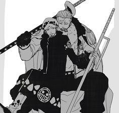 Smoker x Trafalgar Law #one piece
