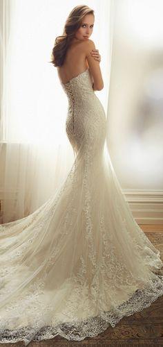 Sophia Tolli 2015 Bridal Collection - Belle Magazine. El Blog de la boda para la novia sofisticada